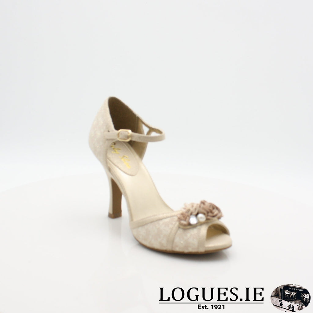 CLARISSA RUBY SHOO S19-Ladies-RUBY SHOO-CREAM/GOLD-3 UK- 36 EU - 5 US-Logues Shoes
