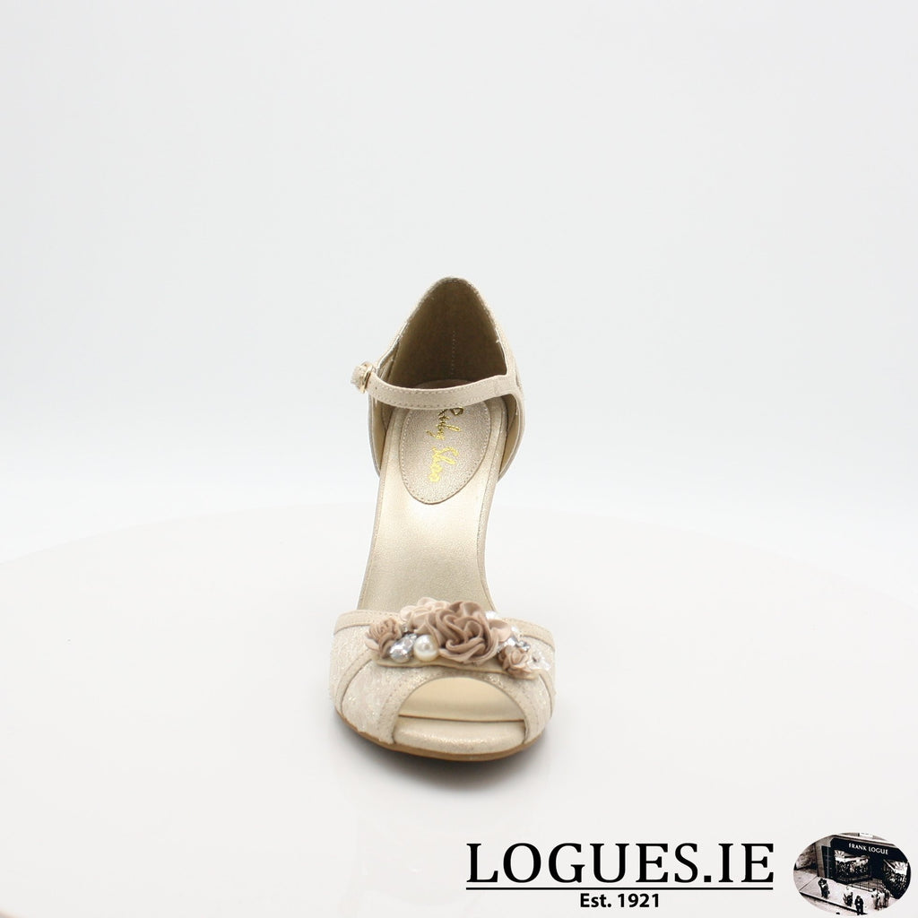CLARISSA RUBY SHOO S19-Ladies-RUBY SHOO-CREAM/GOLD-4 UK -37 EU - 6 US-Logues Shoes
