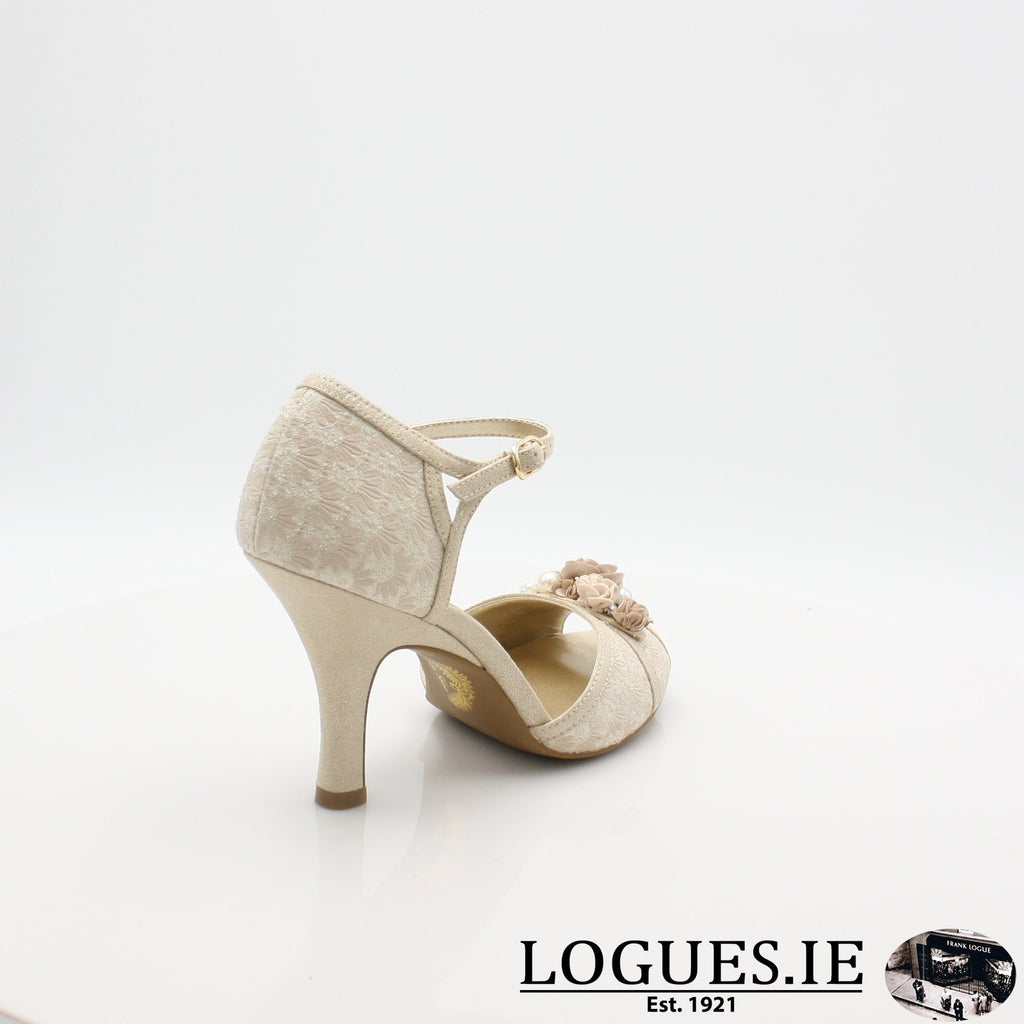 CLARISSA RUBY SHOO S19-Ladies-RUBY SHOO-CREAM/GOLD-6.5 UK - 40 EU -8.5 US-Logues Shoes