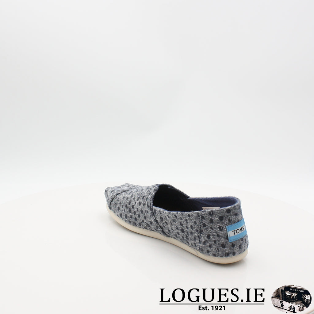 SEASONAL CLASSIC TOMS 18COMFORT CASUALLogues ShoesNAVY 10011652 / 6 UK = 8 US