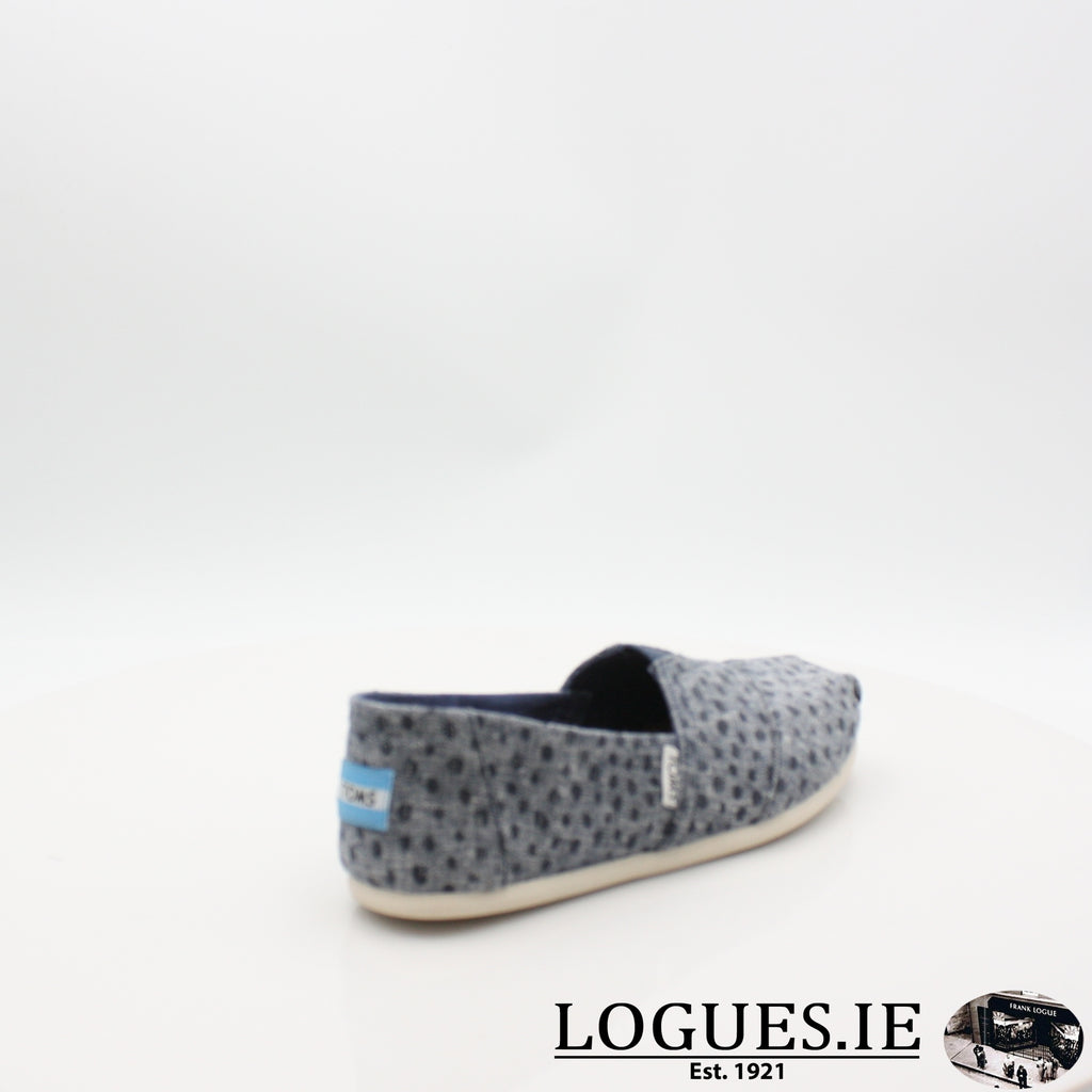 SEASONAL CLASSIC TOMS 18COMFORT CASUALLogues ShoesNAVY 10011652 / 7 UK = 9 US