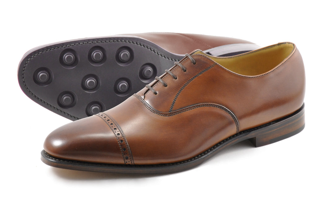 CADOGAN LOAKE-Mens-LOAKE SHOES-MAHOGANY-6-Logues Shoes