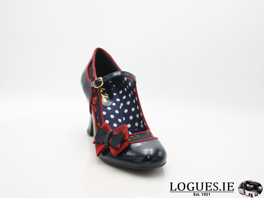 CAMILLA 09237 RUBY SHOO-Ladies-RUBY SHOO-NAVY-38 = 5UK-Logues Shoes