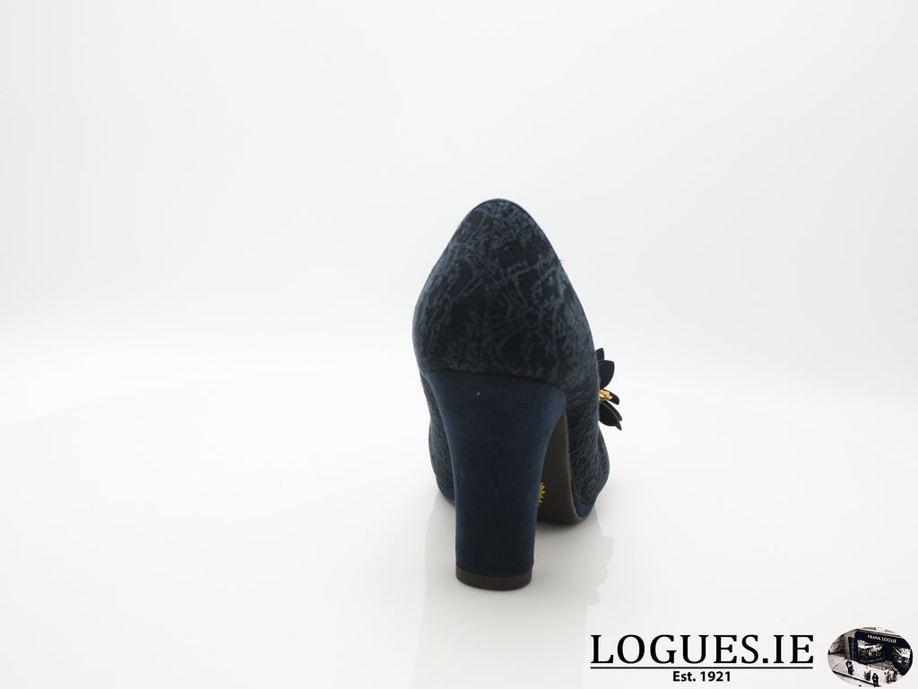 CHARLIE 09215 RUBY SHOO-Ladies-RUBY SHOO-NAVY-42 = 8 UK-Logues Shoes