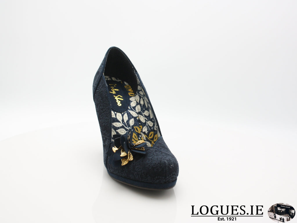 CHARLIE 09215 RUBY SHOO-Ladies-RUBY SHOO-NAVY-38 = 5UK-Logues Shoes