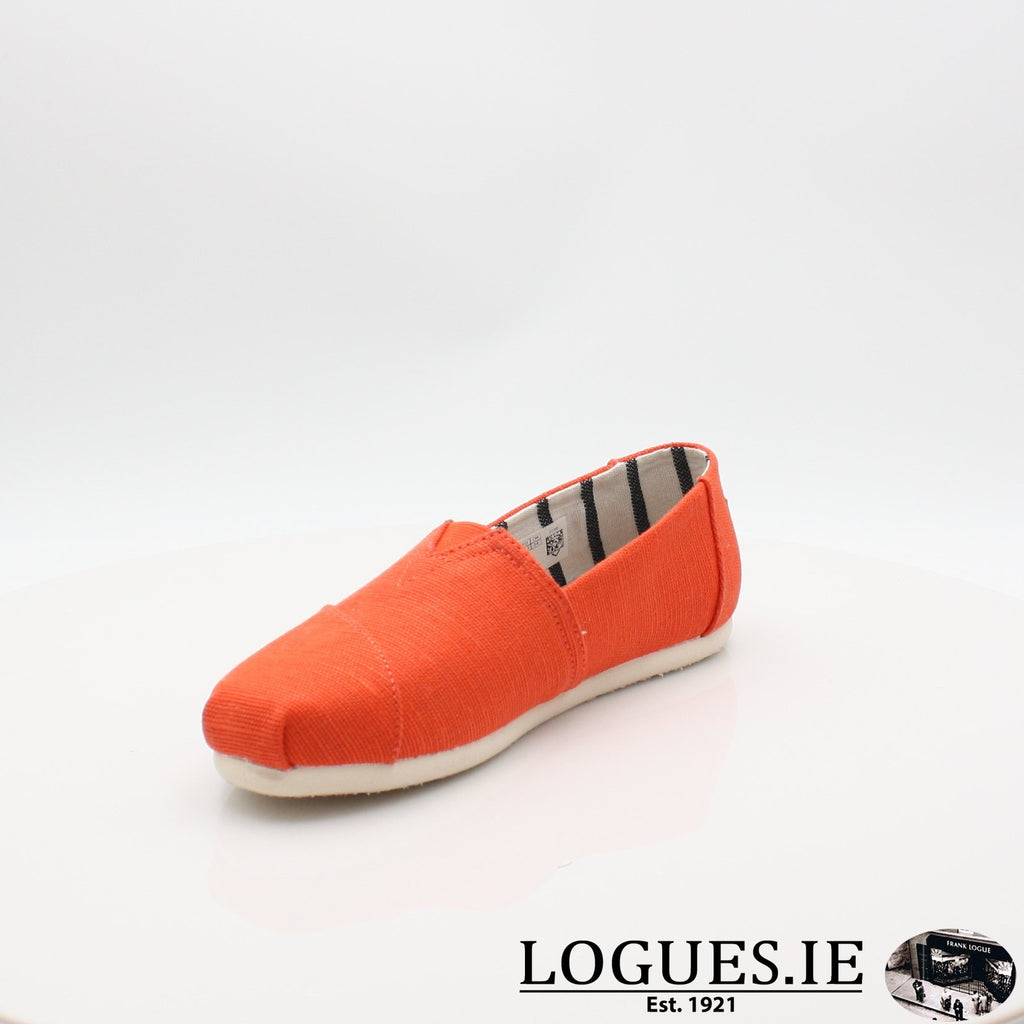 10013503 ALPARGATA TOMS S19LadiesLogues ShoesORANGE / 7 UK- 41 EU - 9 US
