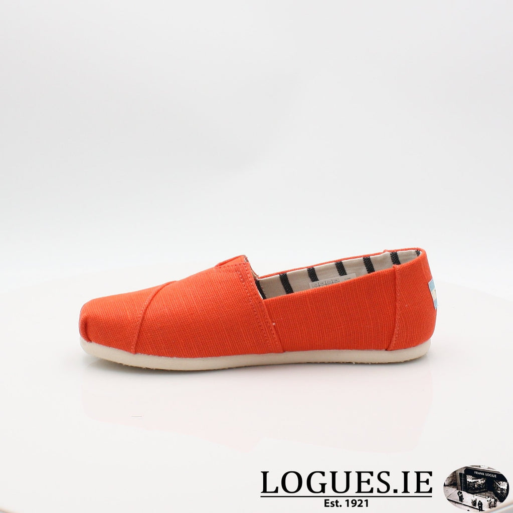 10013503 ALPARGATA TOMS S19LadiesLogues ShoesORANGE / 8 UK - 42 EU -10 US