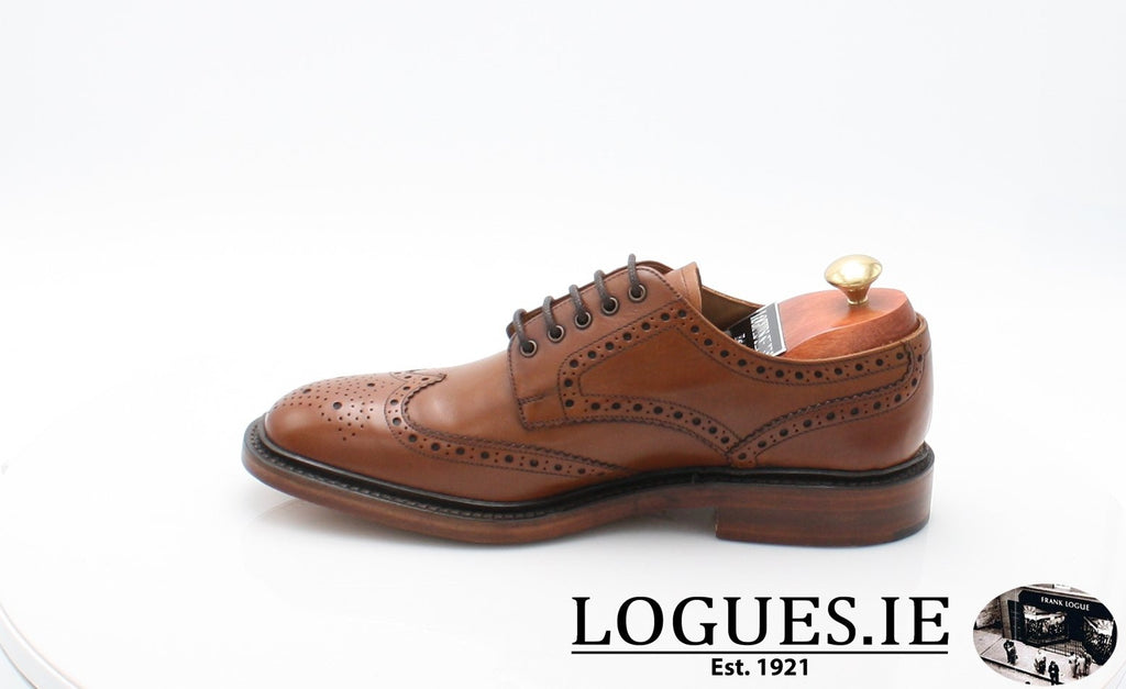 Chester Loake-Mens-LOAKE SHOES-Mahogany-10½-F-Logues Shoes