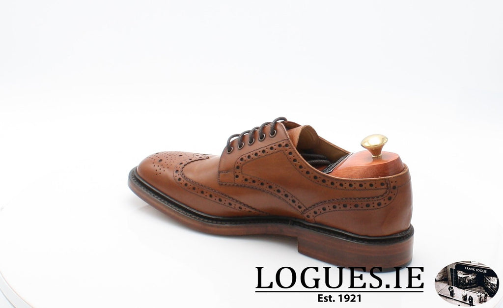 Chester Loake-Mens-LOAKE SHOES-Mahogany-11-F-Logues Shoes