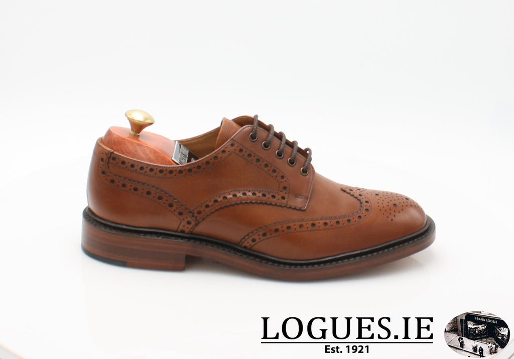 Chester Loake-Mens-LOAKE SHOES-Mahogany-7-F-Logues Shoes