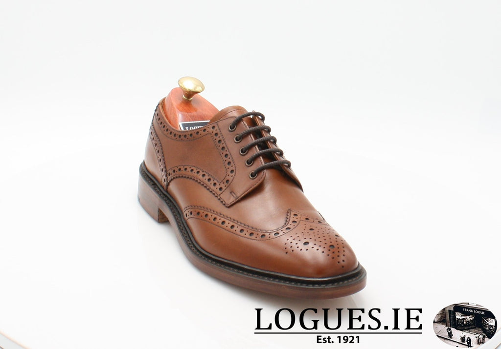 Chester Loake-Mens-LOAKE SHOES-Mahogany-8-F-Logues Shoes