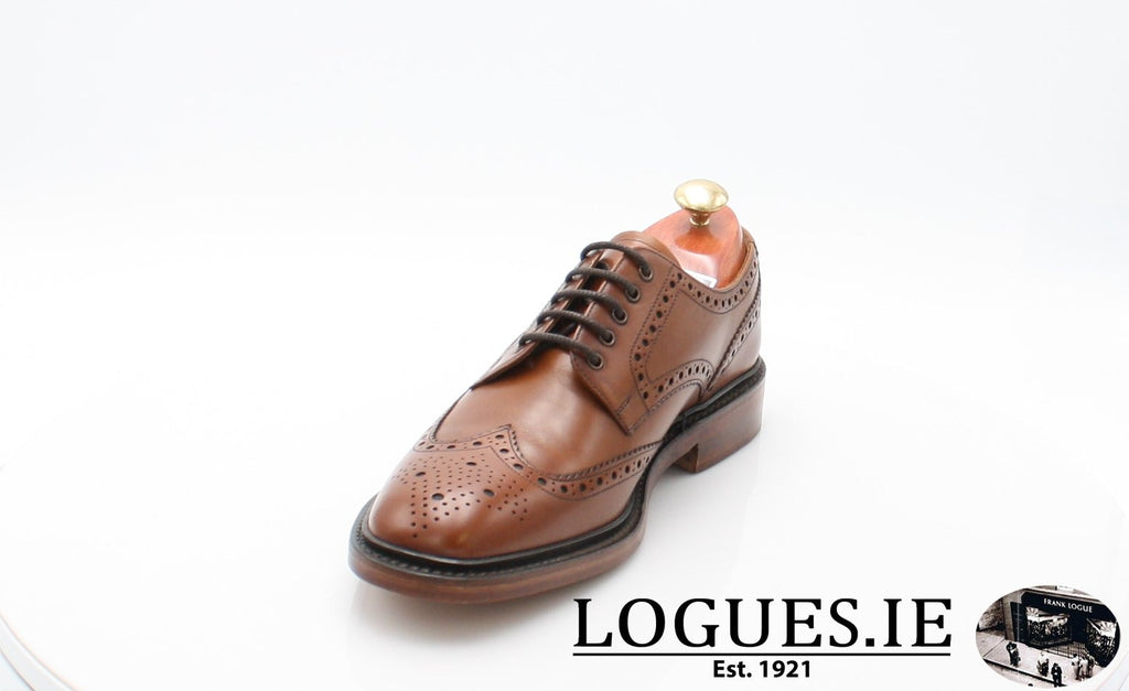 Chester Loake-Mens-LOAKE SHOES-Mahogany-9½-F-Logues Shoes