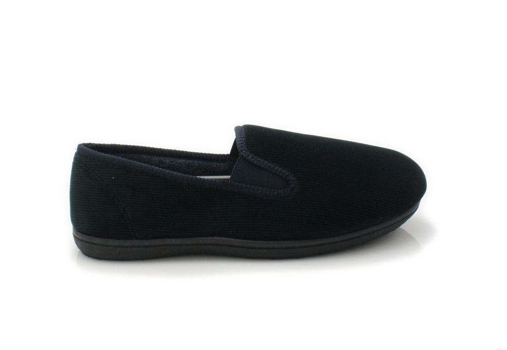 CLA King Twin-Mens-Clarks-Navy Fabric-060-G-Logues Shoes
