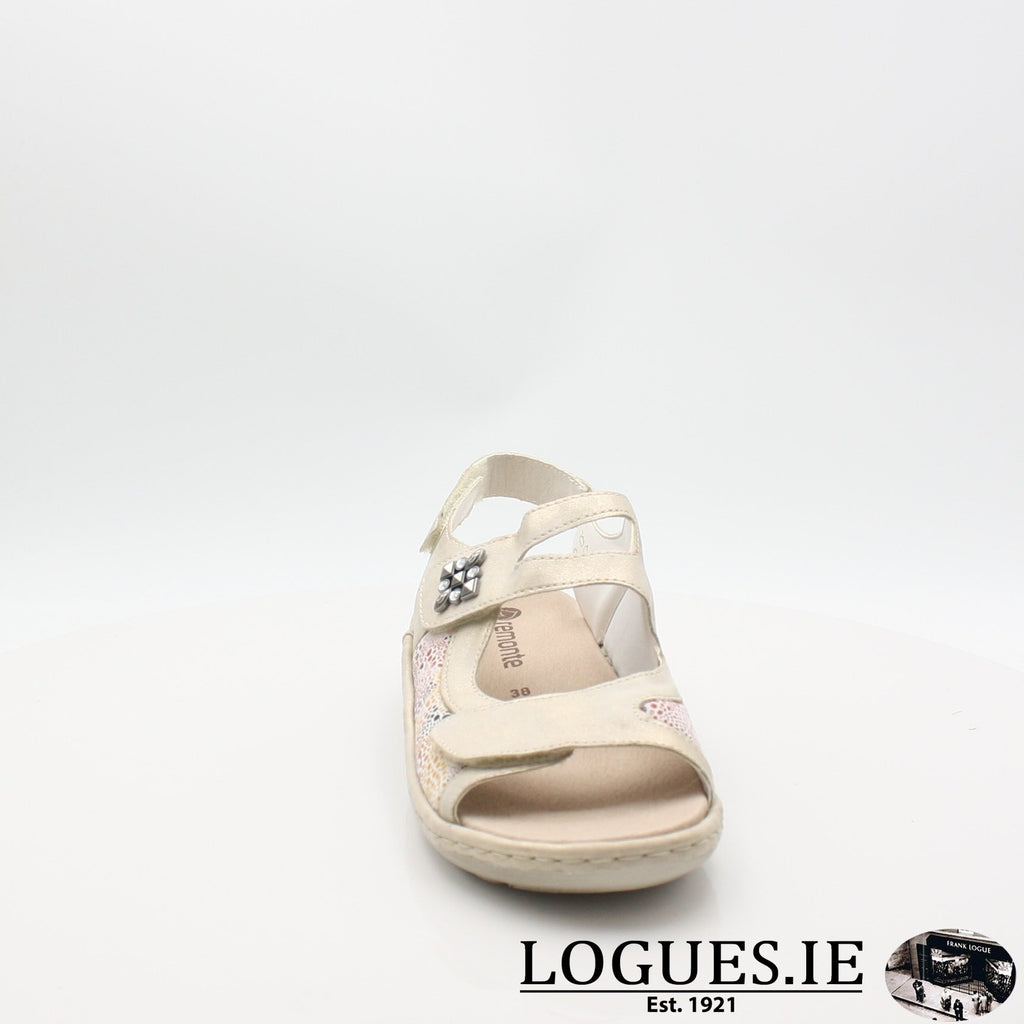 D7647  REMONTE 19LadiesLogues Shoesgold 60 / 38
