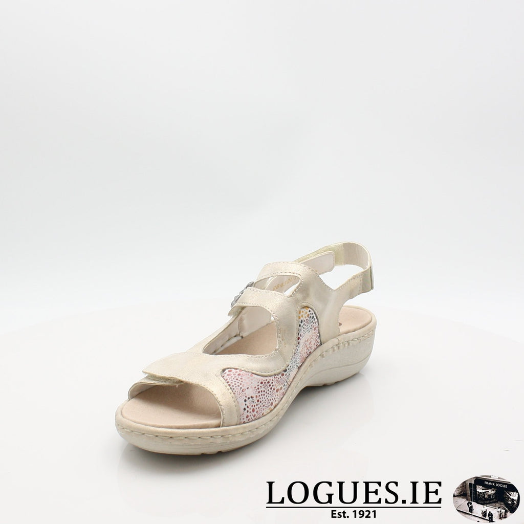 D7647  REMONTE 19LadiesLogues Shoesgold 60 / 39