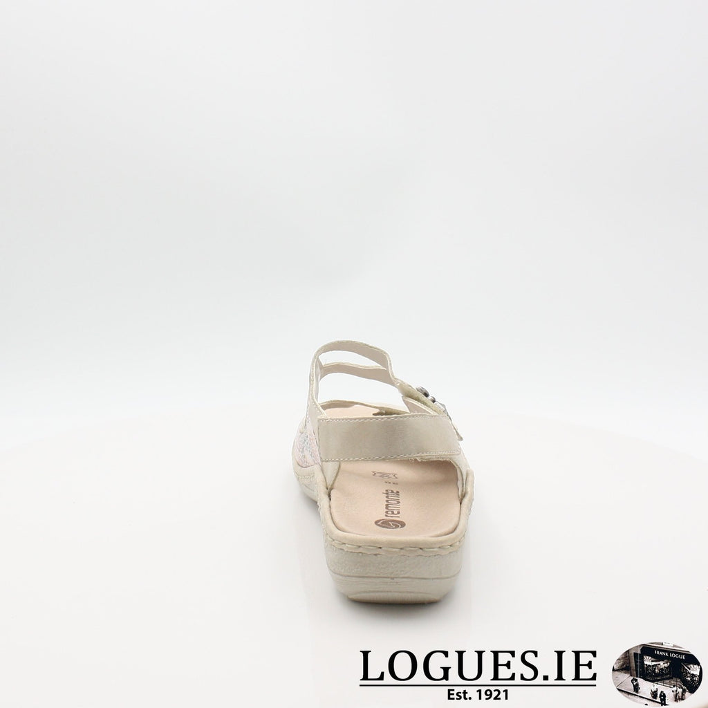 D7647  REMONTE 19LadiesLogues Shoesgold 60 / 41