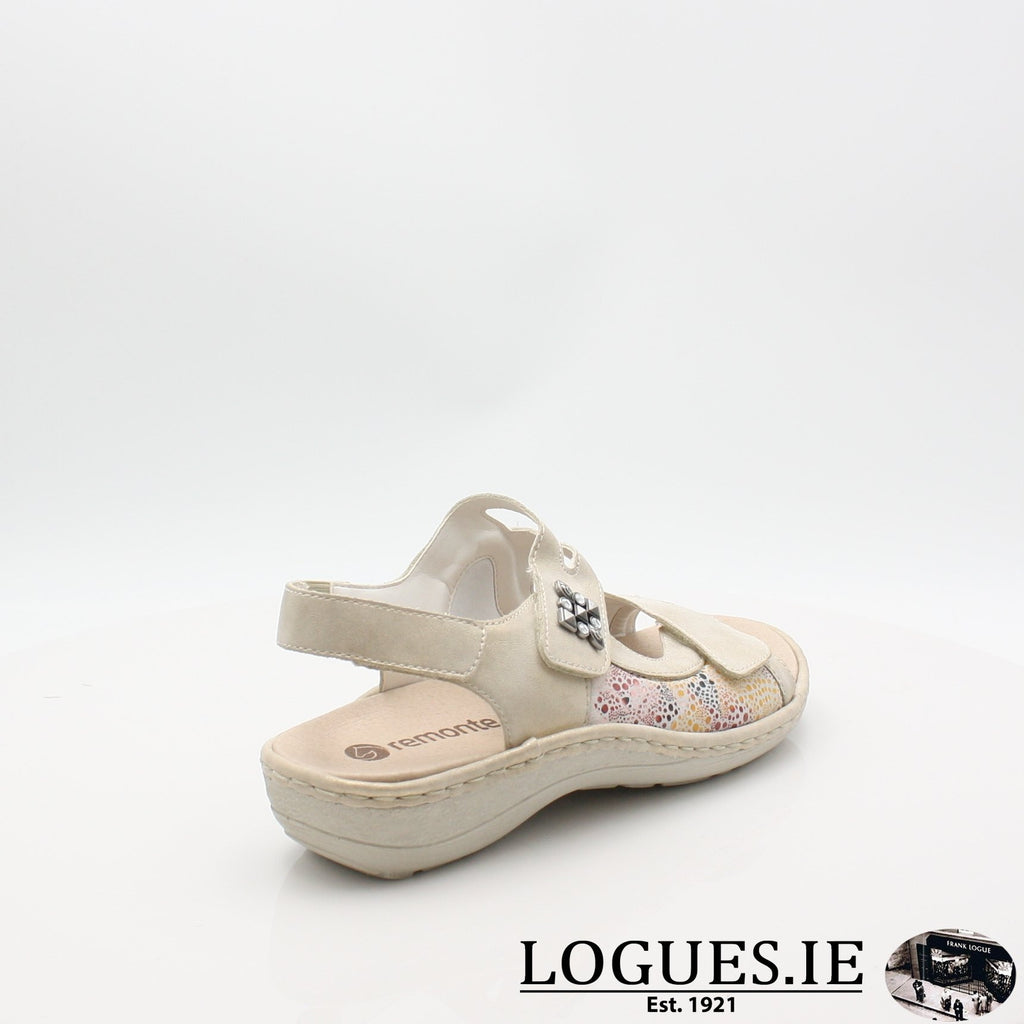D7647  REMONTE 19LadiesLogues Shoesgold 60 / 42
