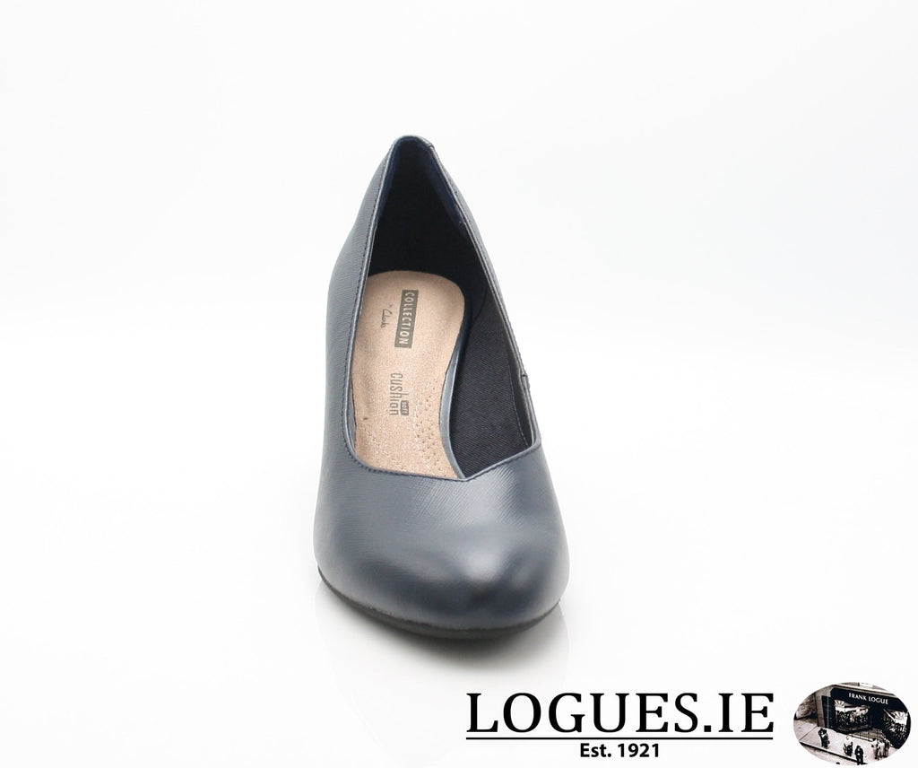 CLA Dancer NolinLadiesLogues ShoesNavy Leather / 050 / D