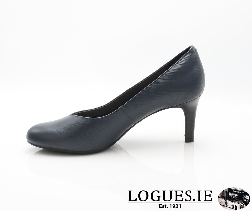 CLA Dancer NolinLadiesLogues ShoesNavy Leather / 065 / D