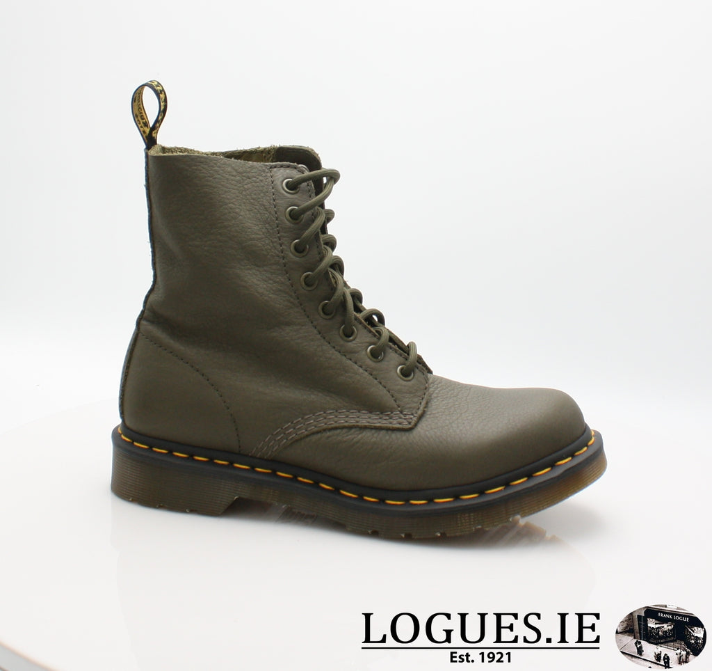 PASCAL 13512 DR MARTENS-Ladies-Dr Martins-KHAKI 272-3-Logues Shoes