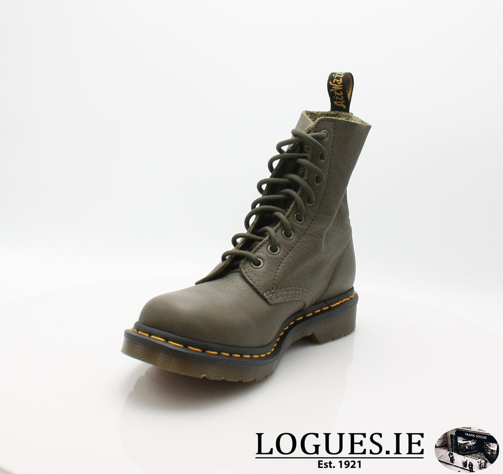 PASCAL 13512 DR MARTENS-Ladies-Dr Martins-KHAKI 272-7-Logues Shoes