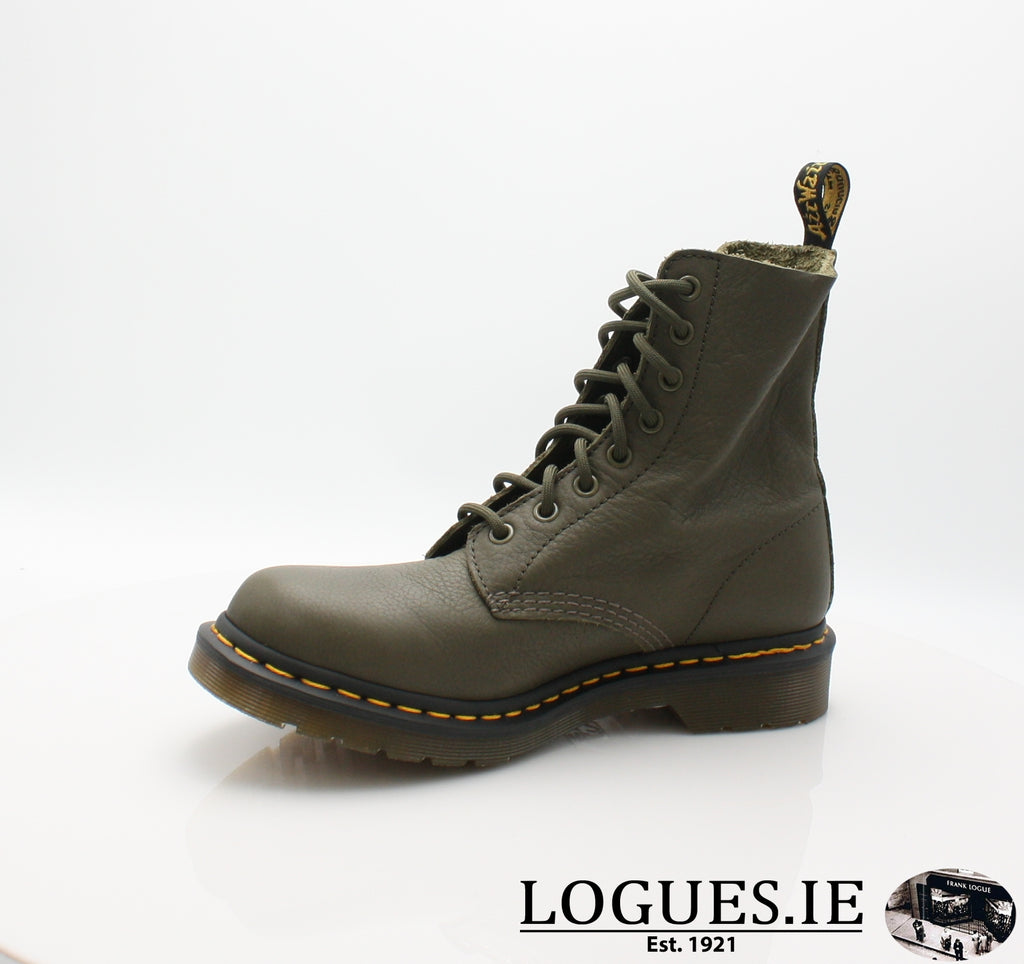 PASCAL 13512 DR MARTENS-Ladies-Dr Martins-KHAKI 272-8-Logues Shoes