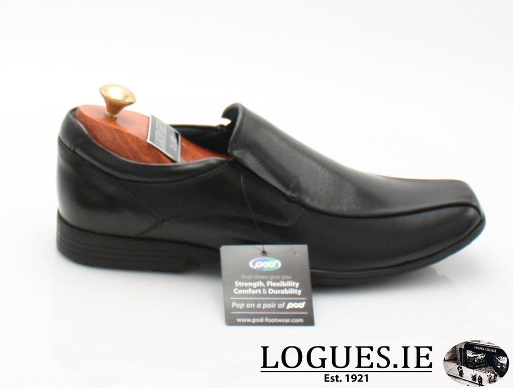 DURHAM S/S18-Mens-POD SHOES-BLACK-40-Logues Shoes