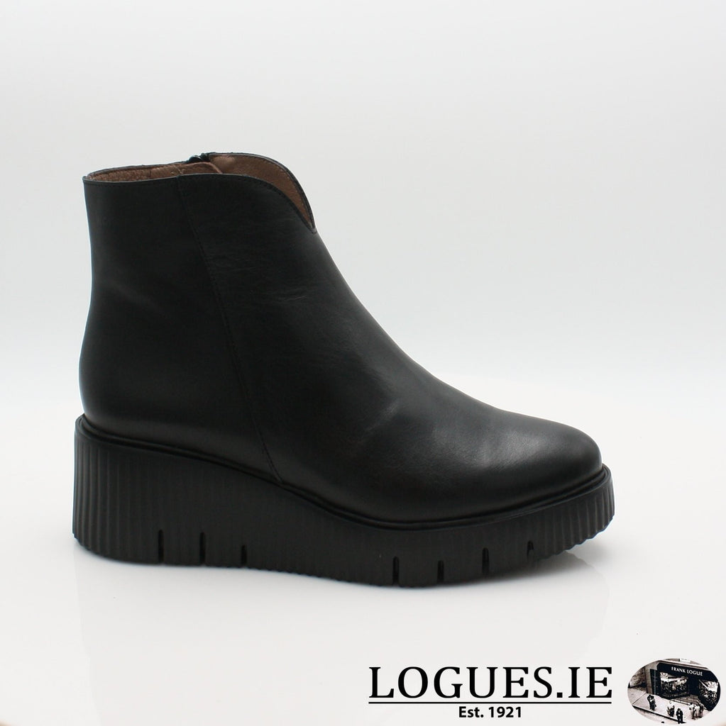E-6210 WONDERS 19BOOTSLogues ShoesVELVET NEGRO / 3 UK- 36 EU - 5 US