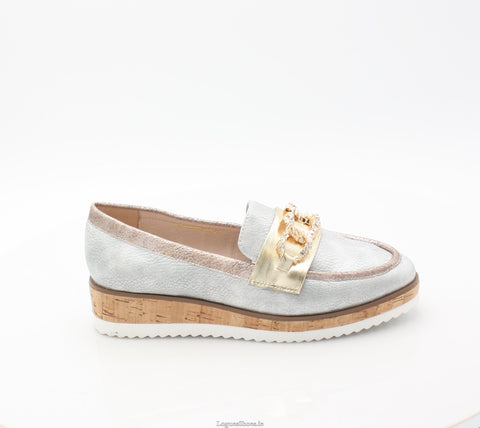 ENCHANTED AMY HUBERMAN SS18LadiesLogues ShoesCHROME BLING / 36 = 3 UK