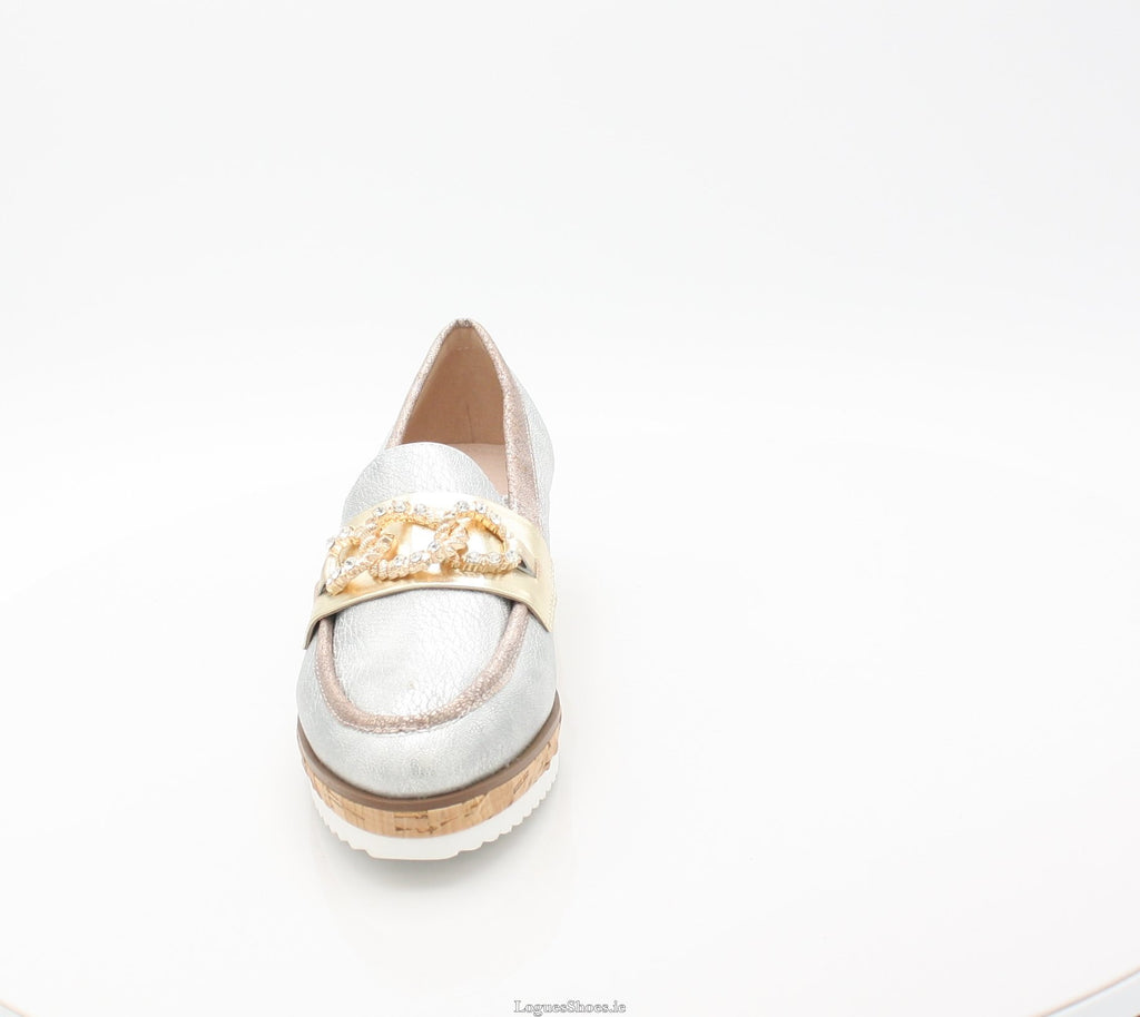 ENCHANTED AMY HUBERMAN SS18LadiesLogues ShoesCHROME BLING / 39 = 6 UK