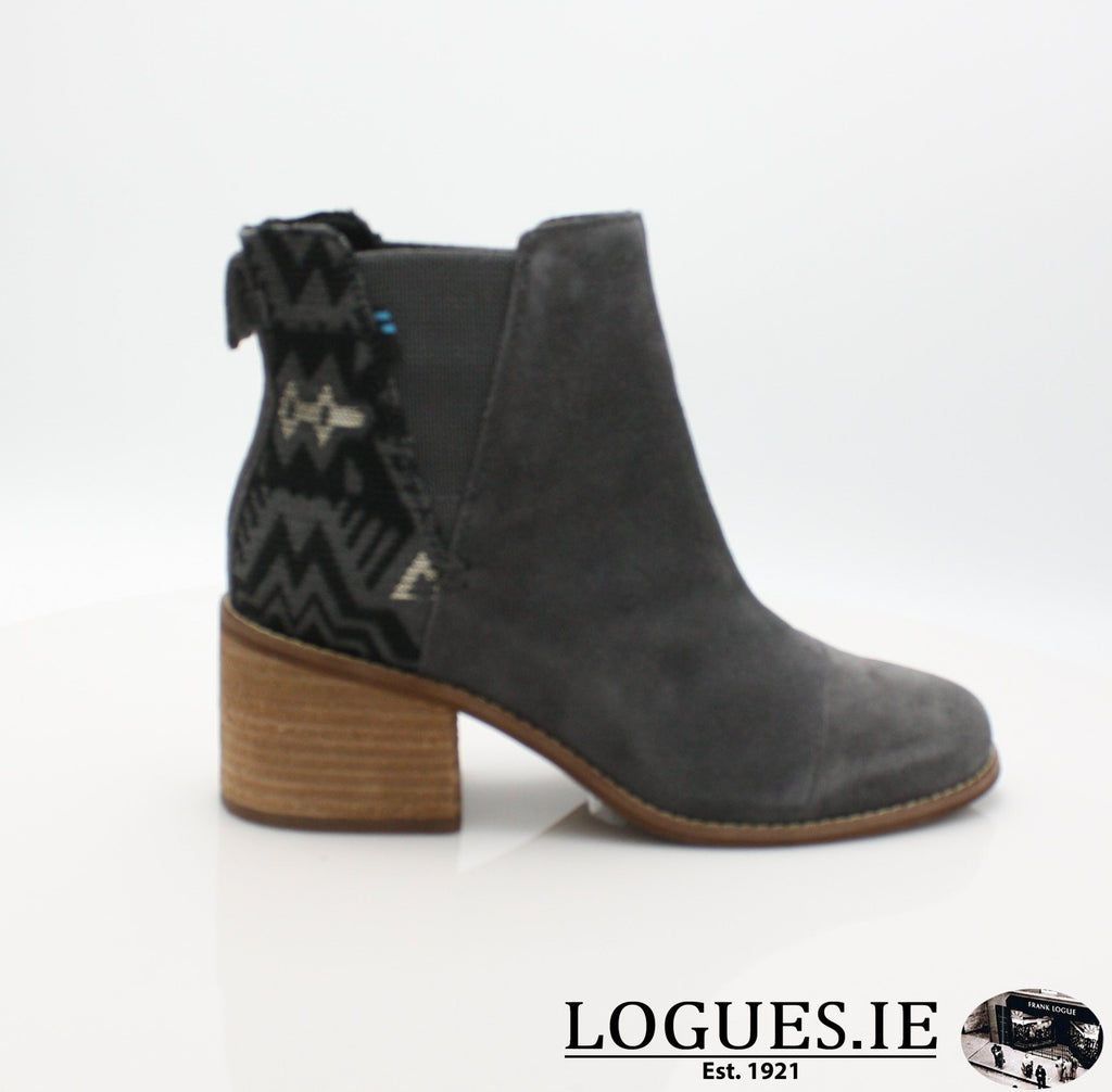 ESME BOTIELadiesLogues ShoesGREY LEATHER / 4 UK = 6 US