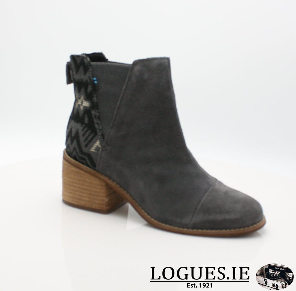 ESME BOTIELadiesLogues ShoesGREY LEATHER / 4.5 UK = 6.5 US