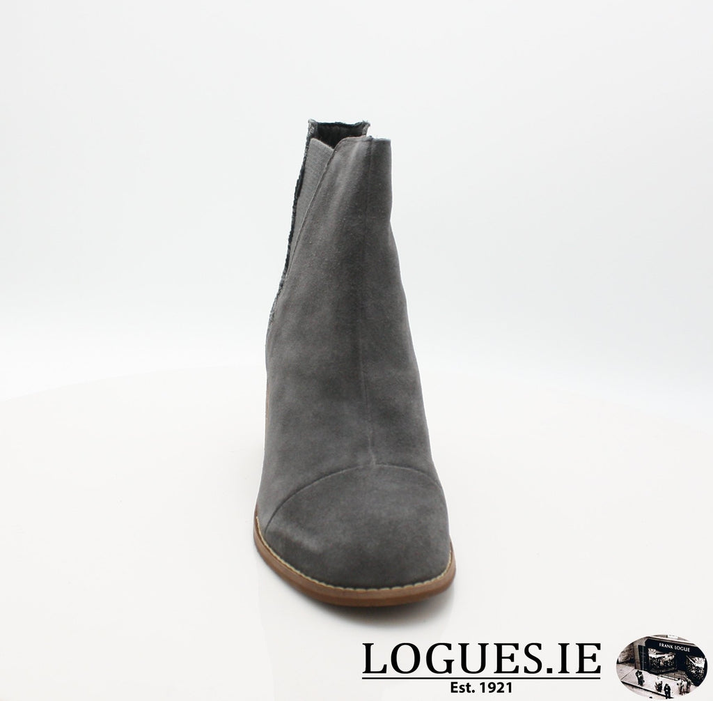 ESME BOTIELadiesLogues ShoesGREY LEATHER / 5 UK =7 US