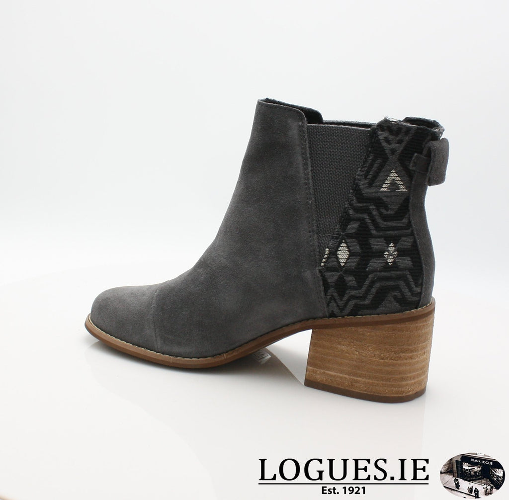 ESME BOTIELadiesLogues ShoesGREY LEATHER / 7 UK = 9 US