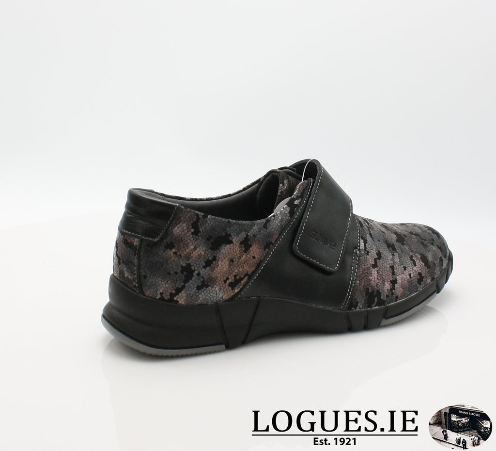 9203 EVA SUAVE AW18-Ladies-SUAVE SHOES CONOS LTD-NIGHT/BLACK-43 = 9 UK-Logues Shoes