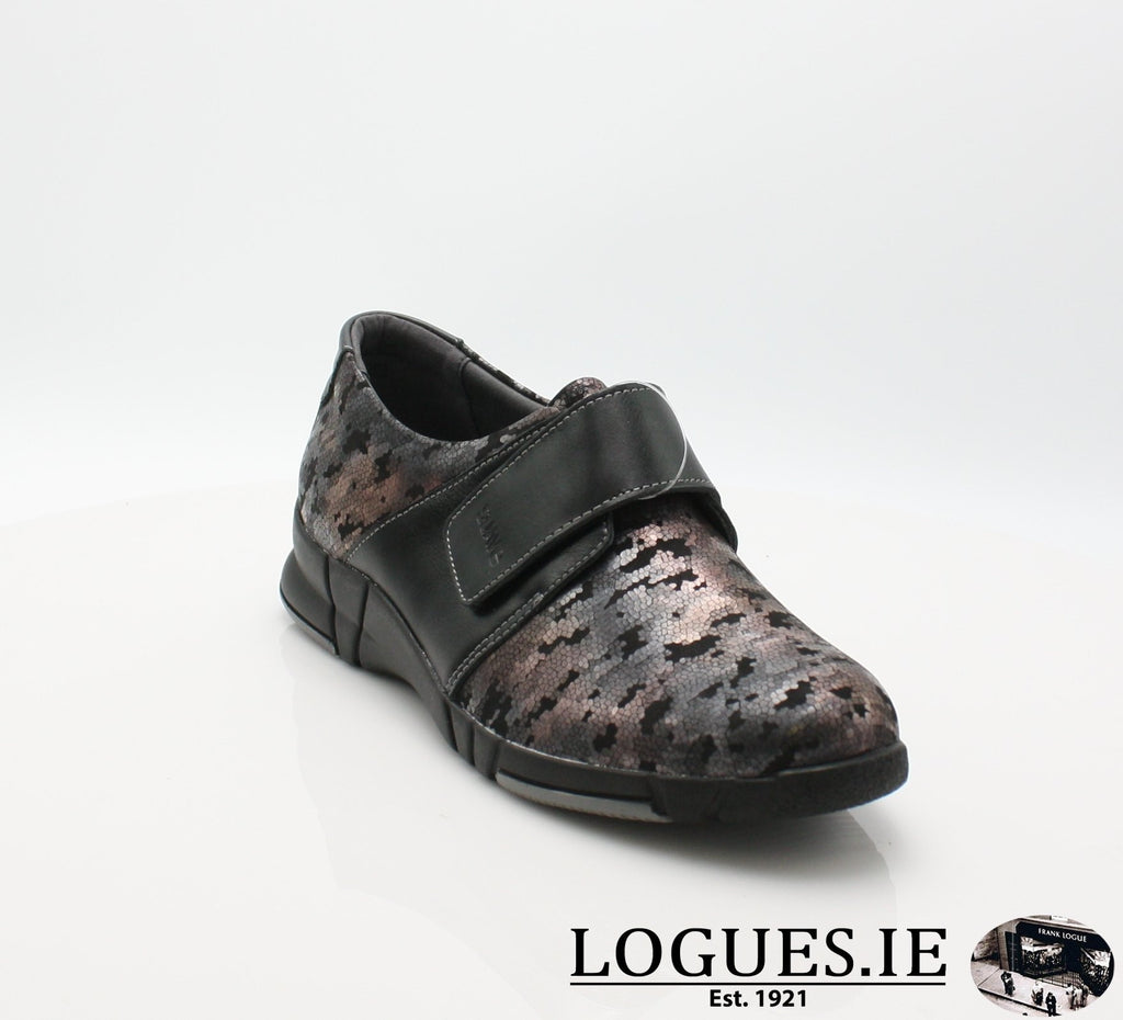 9203 EVA SUAVE AW18-Ladies-SUAVE SHOES CONOS LTD-NIGHT/BLACK-37 = 4 UK-Logues Shoes