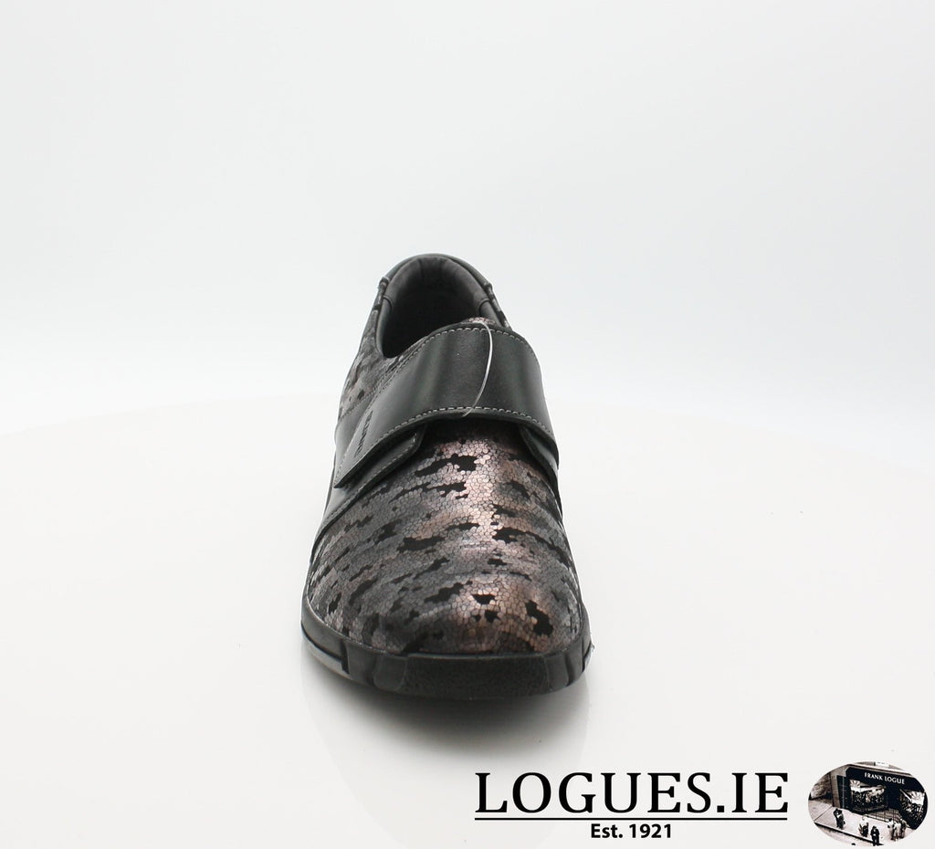 9203 EVA SUAVE AW18-Ladies-SUAVE SHOES CONOS LTD-NIGHT/BLACK-38 = 5UK-Logues Shoes