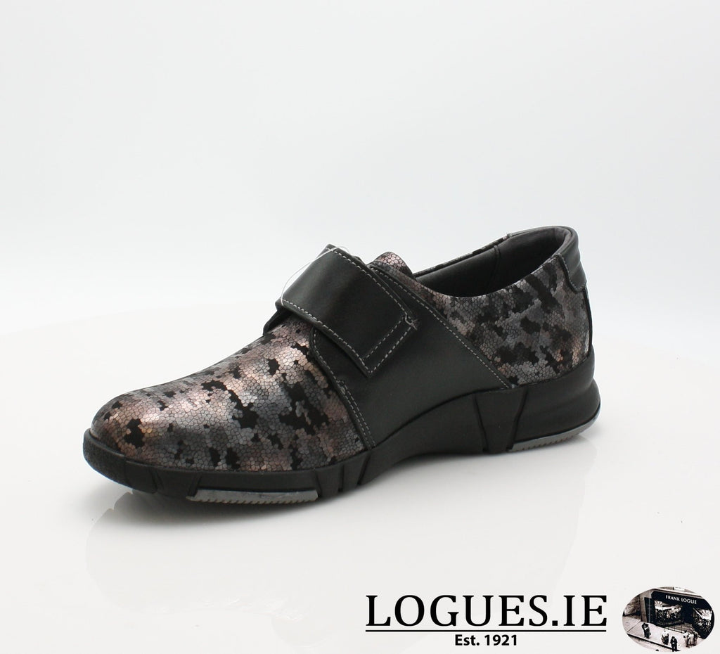 9203 EVA SUAVE AW18-Ladies-SUAVE SHOES CONOS LTD-NIGHT/BLACK-39 = 6 UK-Logues Shoes