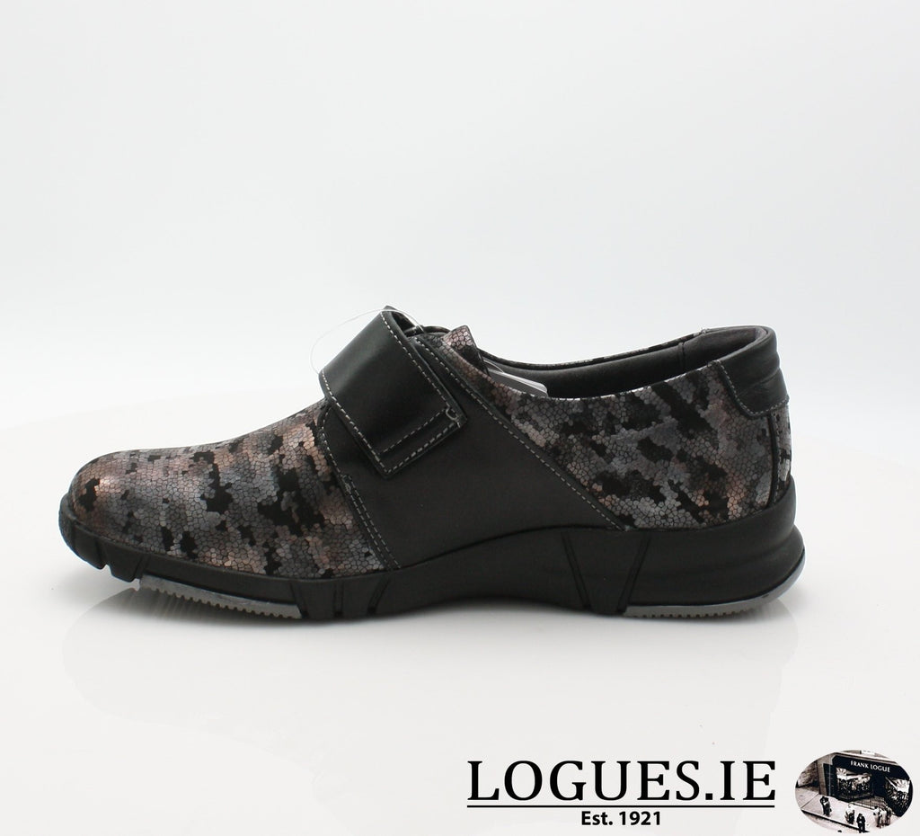 9203 EVA SUAVE AW18-Ladies-SUAVE SHOES CONOS LTD-NIGHT/BLACK-40 = 6.5/7 UK-Logues Shoes