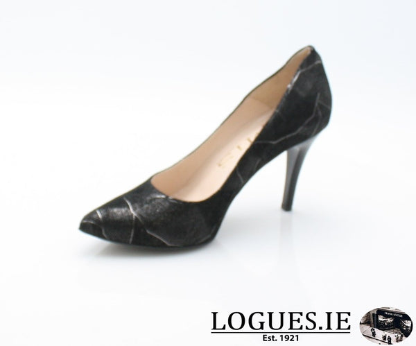 6441 EMIS AW 18LadiesLogues ShoesBLACK/SILVER / 40 = 6.5/7 UK