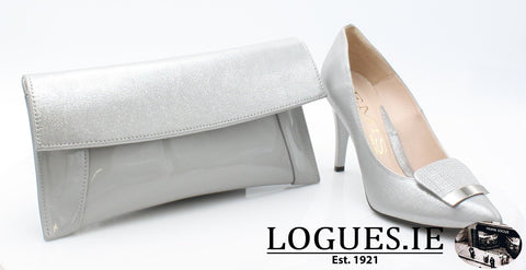 7314 EMIS AW18LadiesLogues ShoesSILVER / 37 = 4 UK