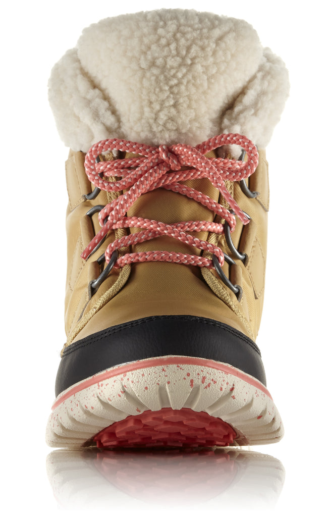 NL 2297 COZY CARNIVAL A/W 16-Ladies-SOREL/COLUMBIA-273 CARAMEL BLACK-US 8 =6uk-Logues Shoes