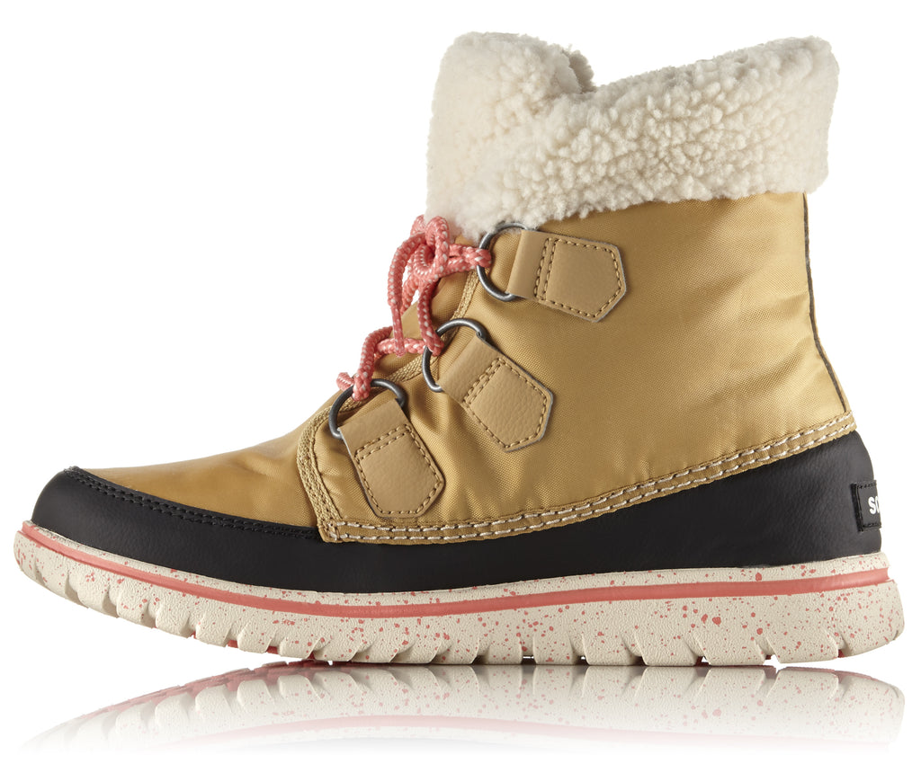 NL 2297 COZY CARNIVAL A/W 16-Ladies-SOREL/COLUMBIA-273 CARAMEL BLACK-US 9 = 7 uk-Logues Shoes