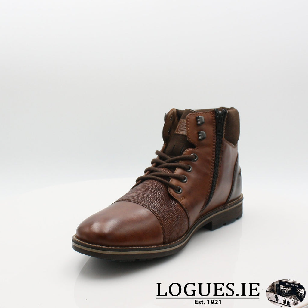 F5532 RIEKIER 19MensLogues Shoesbrown 27 / 42