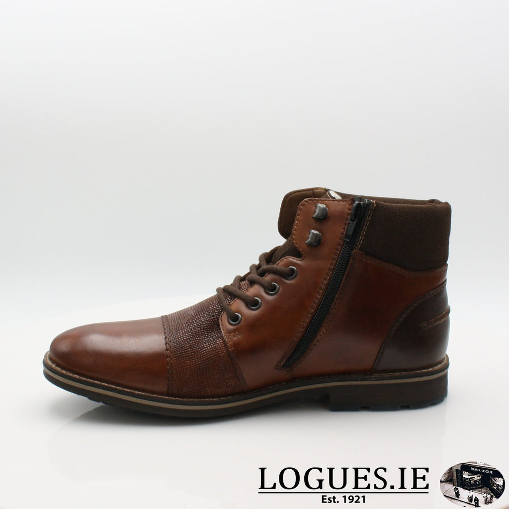 F5532 RIEKIER 19MensLogues Shoesbrown 27 / 43