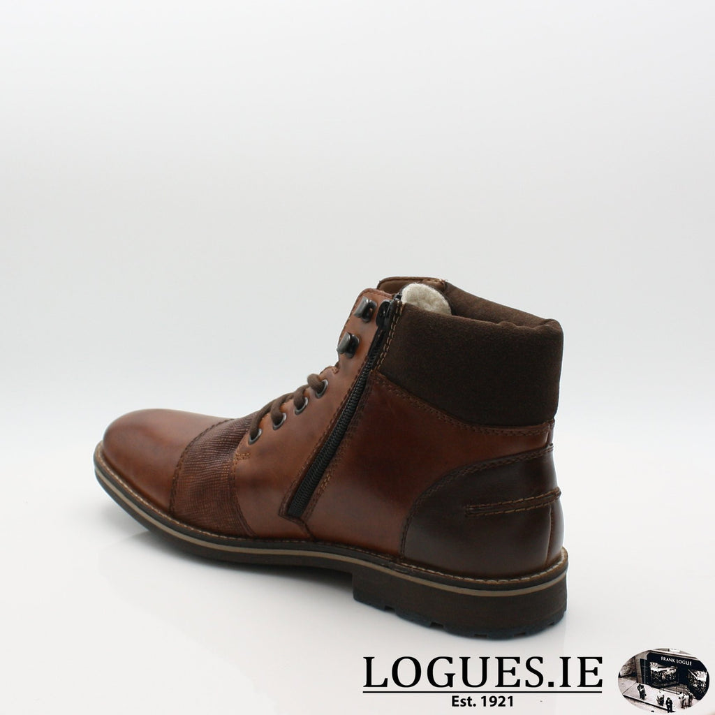 F5532 RIEKIER 19MensLogues Shoesbrown 27 / 44