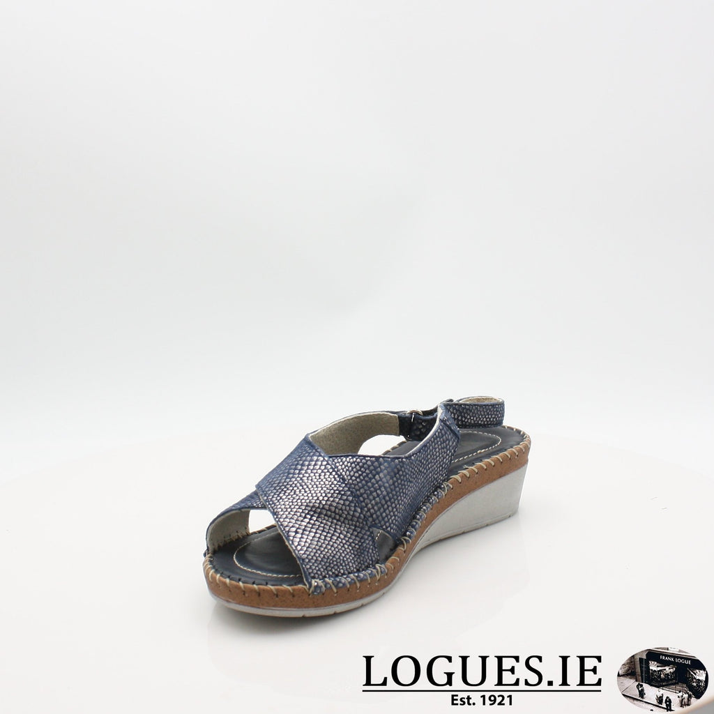 Faversham VAN DAL 19COMFORT CASUALLogues ShoesMidnight Snake / 38 / E