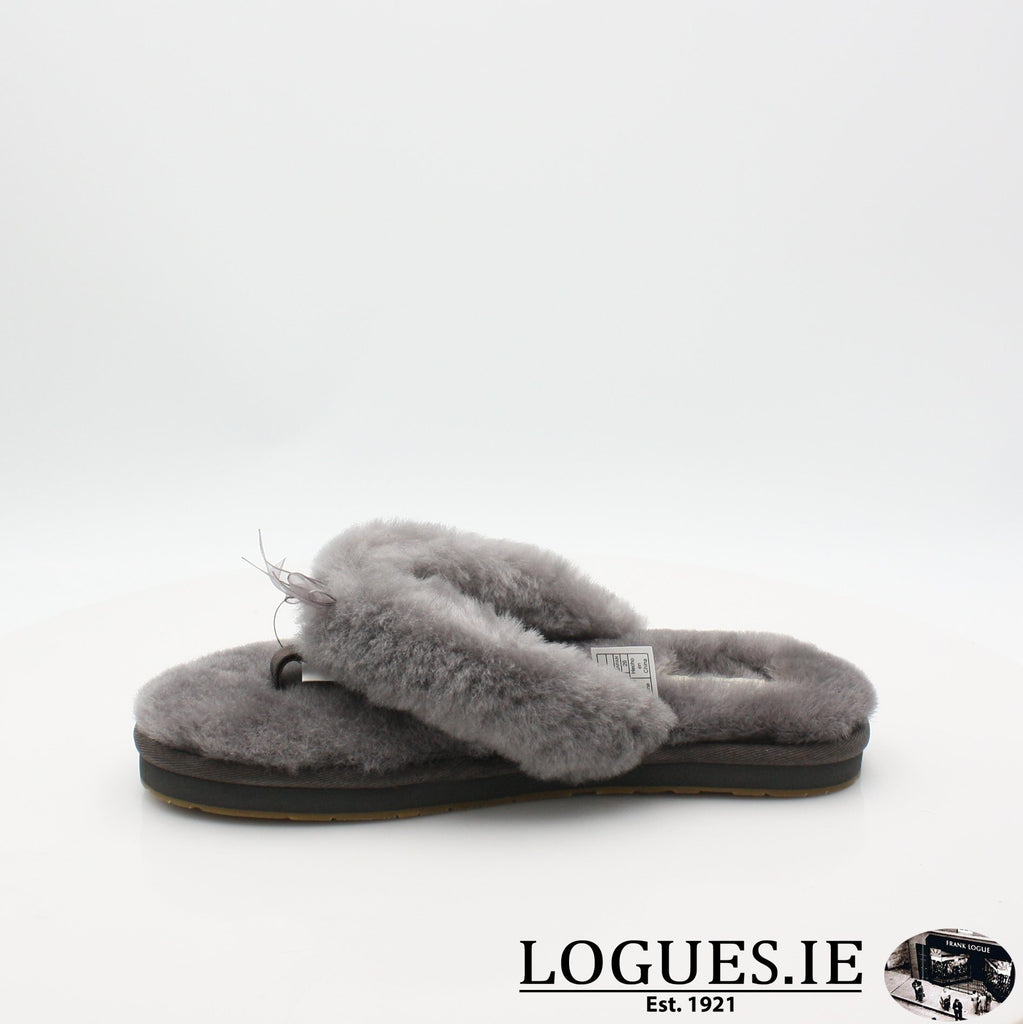 FLUFF FLIP FLOP 111 1100250LadiesLogues ShoesGREY / 6 UK- 39 EU - 8 US