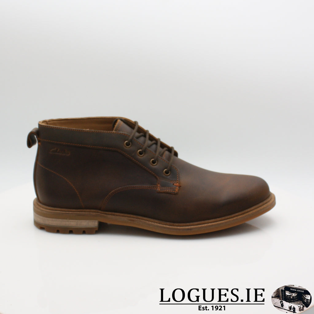 Foxwell Mid  CLARKS, Mens, Clarks, Logues Shoes - Logues Shoes.ie Since 1921, Galway City, Ireland.