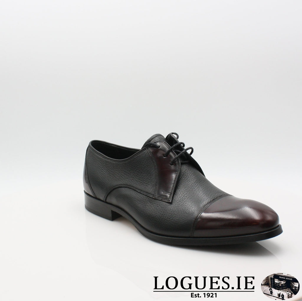 FRED BARKER AW17MensLogues ShoesBLACK WINE / 7.5